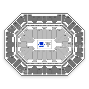 Target Center Seating Chart Olympic Sports
