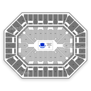 Target Center Seating Chart Theater