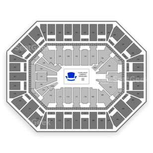 Target Center Seating Chart Comedy