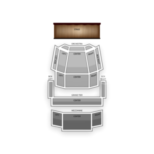 Knight Theater Seating Chart Classical Orchestral Instrumental