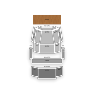 Knight Theater Seating Chart Classical Opera