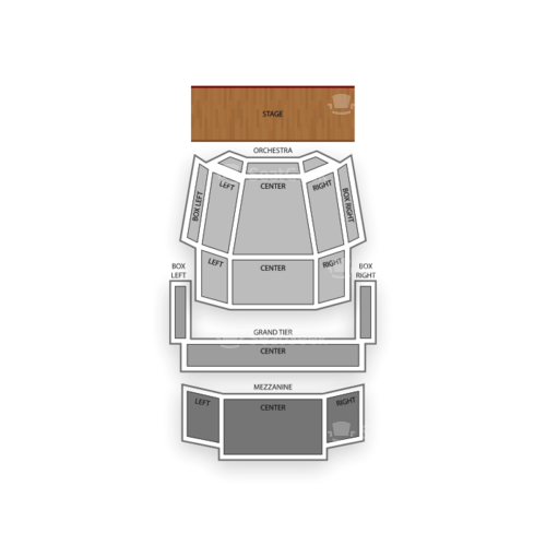Knight Theater Seating Chart Concert