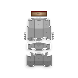 Barbara B Mann Performing Arts Hall Seating Chart Comedy