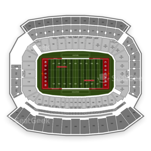 Houston Cougars Football Seating Chart