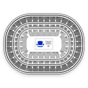United Center Seating Chart MMA
