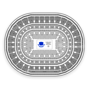 United Center Seating Chart NCAA Hockey