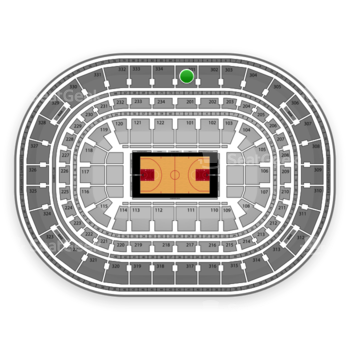 Chicago Bulls at United Center Section 301 View
