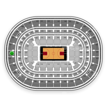 Chicago Bulls at United Center Section 326 View