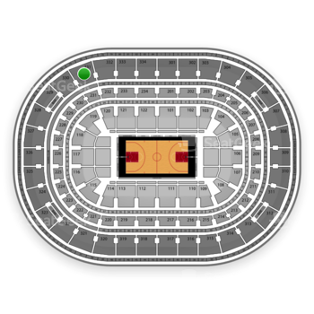 Chicago Bulls at United Center Section 331 View