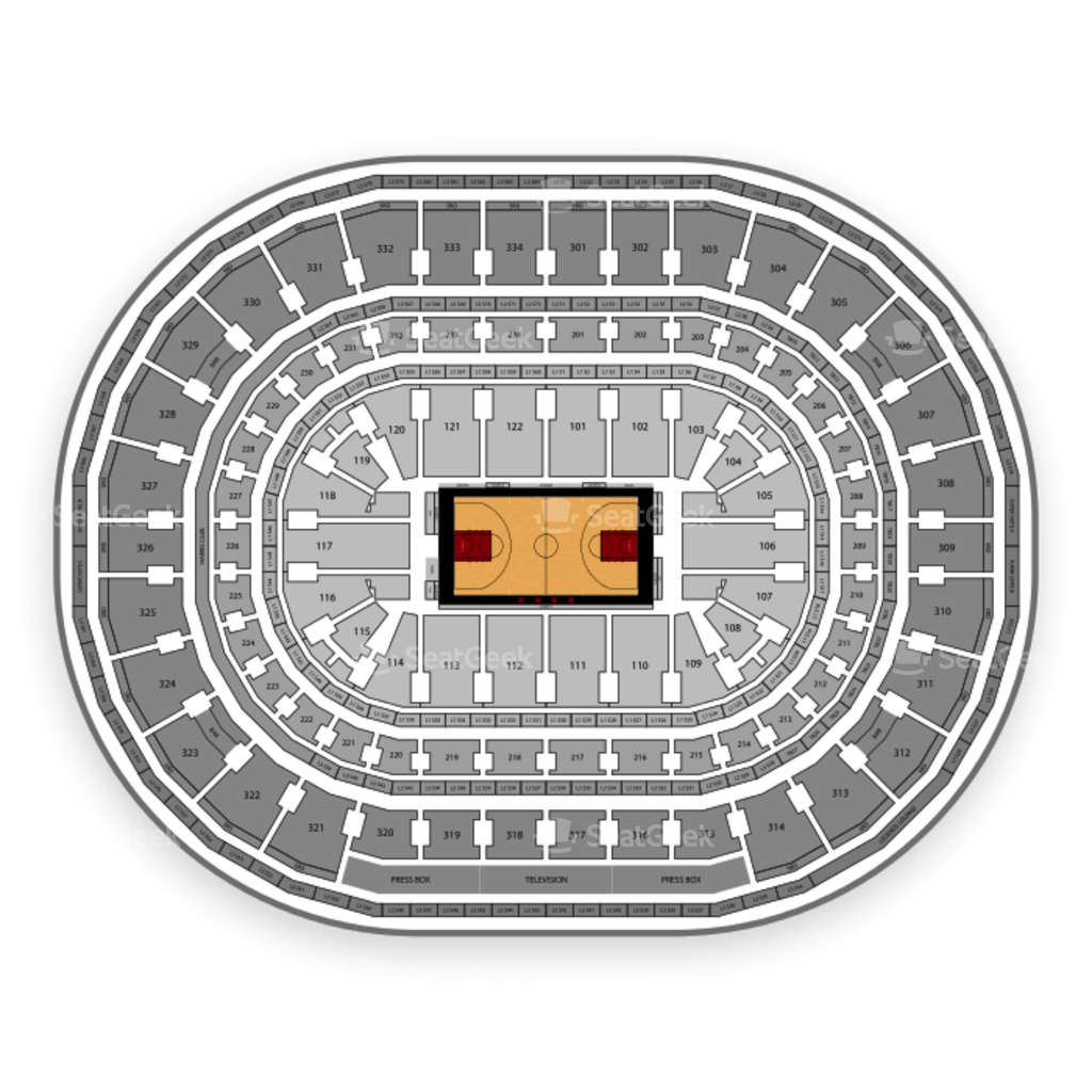 united center seating chart & map | seatgeek