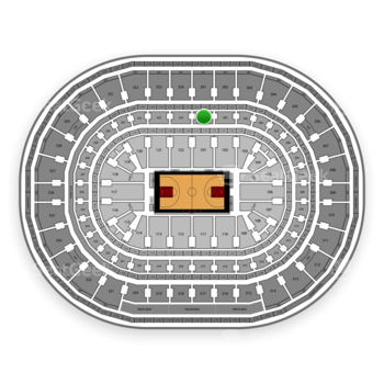 Chicago Bulls at United Center Section 201 View