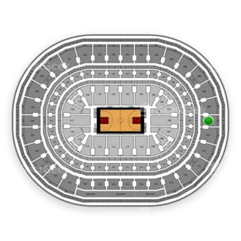 Chicago Bulls at United Center Section 309 View