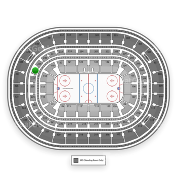 Chicago Blackhawks at United Center Section 228 View