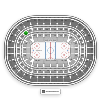 Chicago Blackhawks at United Center Section 230 View
