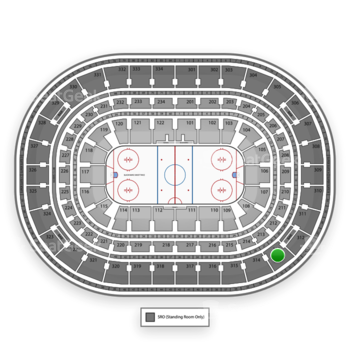 Chicago Blackhawks at United Center Section 313 View