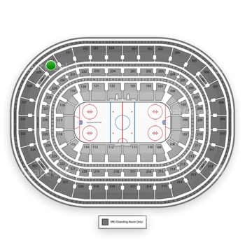 Chicago Blackhawks at United Center Section 330 View