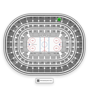 NHL at United Center Section 303 View
