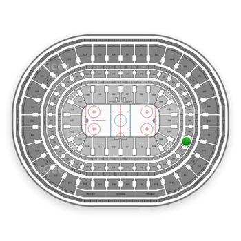 Chicago Blackhawks at United Center Section 211 View