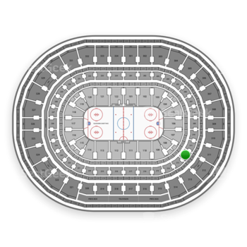Chicago Blackhawks at United Center Section 212 View