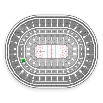 Chicago Blackhawks at United Center Section 224 View