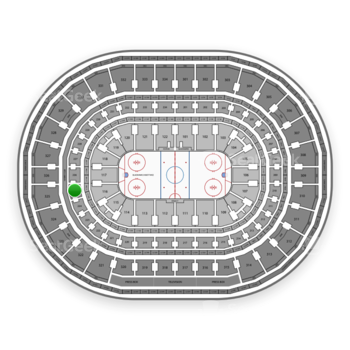 Chicago Blackhawks at United Center Section 225 View