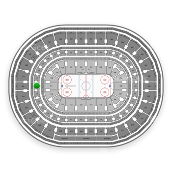 Chicago Blackhawks at United Center Section 226 View