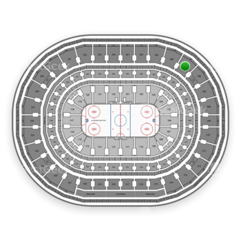 Chicago Blackhawks at United Center Section 305 View