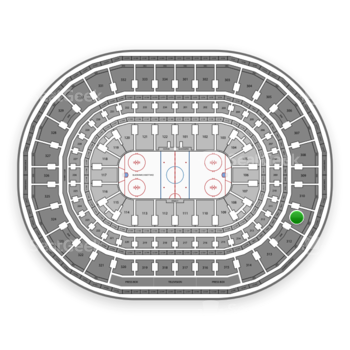 Chicago Blackhawks at United Center Section 311 View