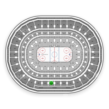 Chicago Blackhawks at United Center Section 318 View