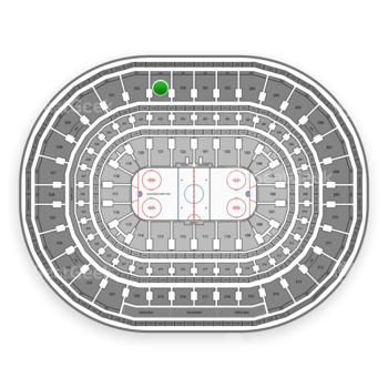 Chicago Blackhawks at United Center Section 333 View