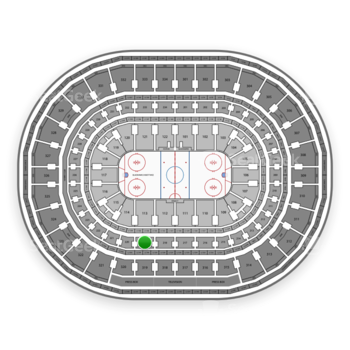 Chicago Blackhawks at United Center Section 219 View