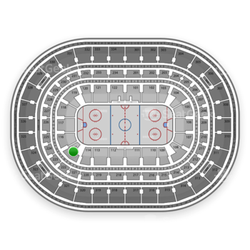 Chicago Blackhawks at United Center Section 115 View