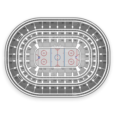 United Center seating chart Chicago Blackhawks