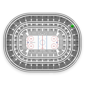 Chicago Blackhawks at United Center Section 306 View