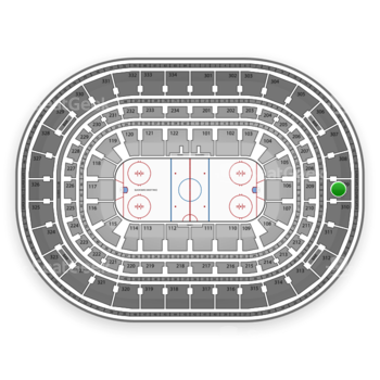 Chicago Blackhawks at United Center Section 309 View