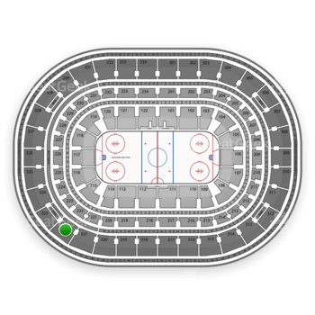 Chicago Blackhawks at United Center Section 322 View