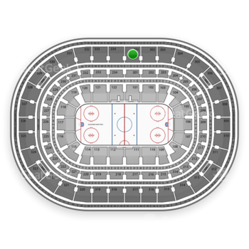 NHL at United Center Section 301 View