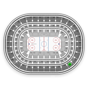 NHL at United Center Section 313 View