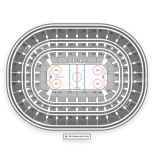 United Center Seating Chart NHL