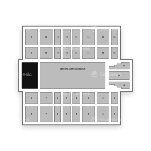 Mountain Health Arena Seating Chart Concert