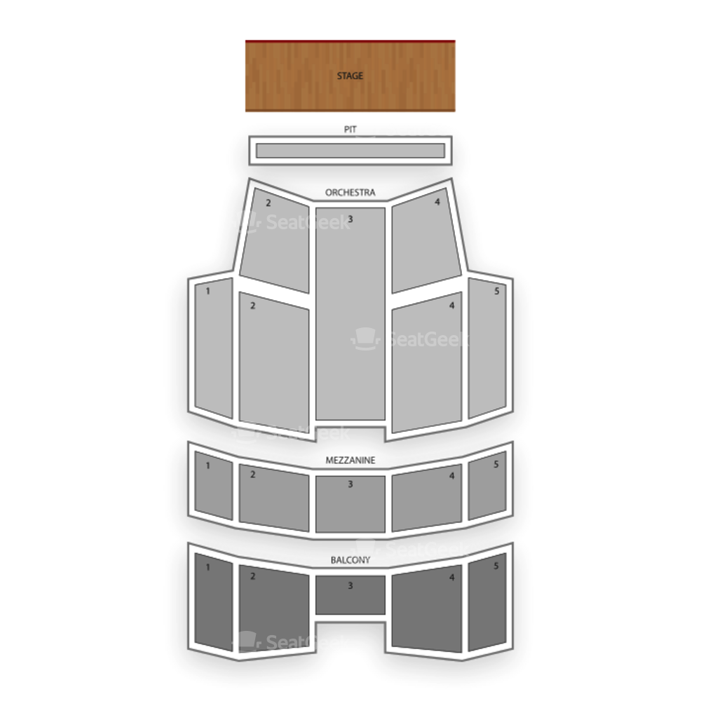 The Lakeland Center Seating Chart Broadway Tickets National