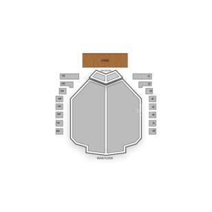 Des Moines Civic Center Seating Chart Theater