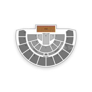 San Francisco Scottish Rite Seating Chart Theater