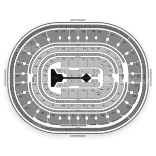 The Palace of Auburn Hills Seating Chart Concert