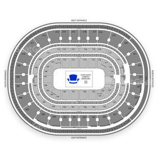 The Palace of Auburn Hills Seating Chart Theater