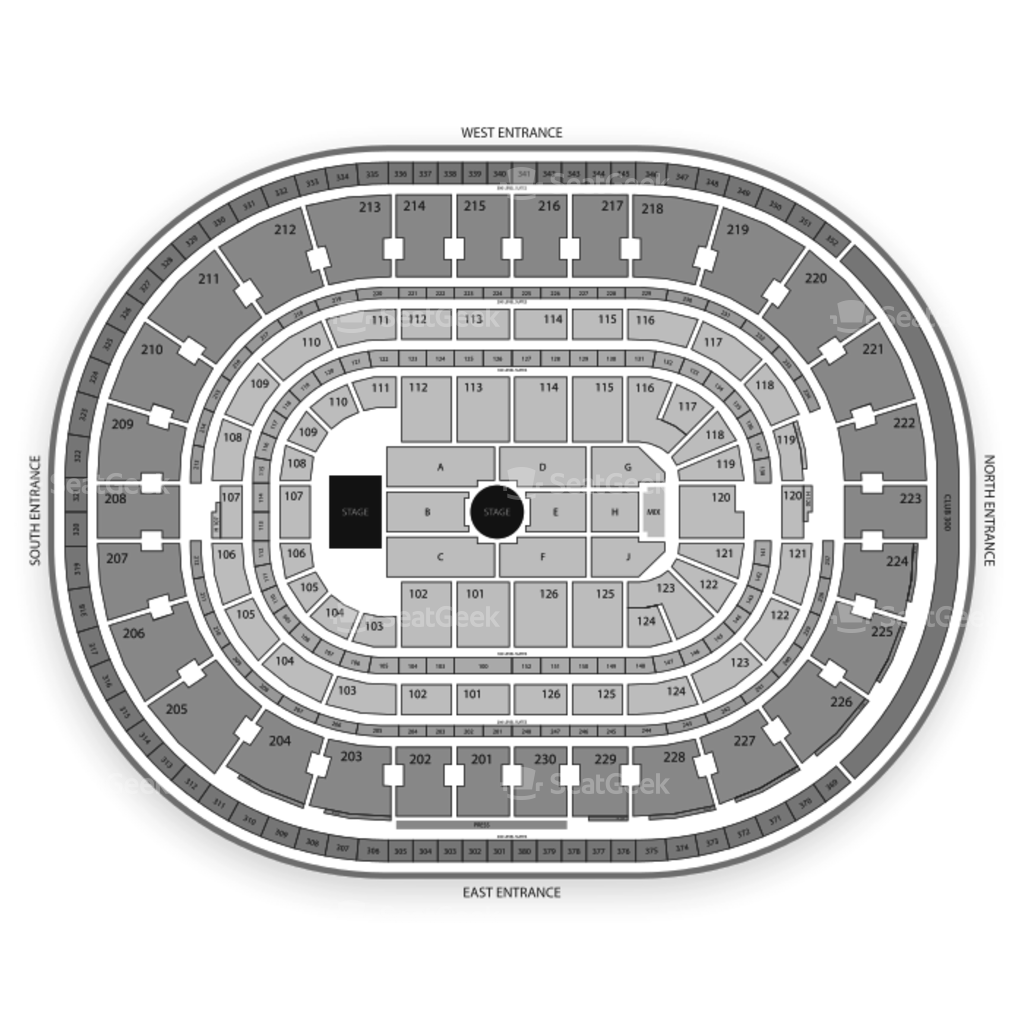 The Palace Of Auburn Hills Seating Chart Map Seatgeek