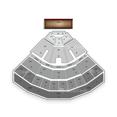 Molson Canadian Amphitheatre seating chart 5 Seconds of Summer