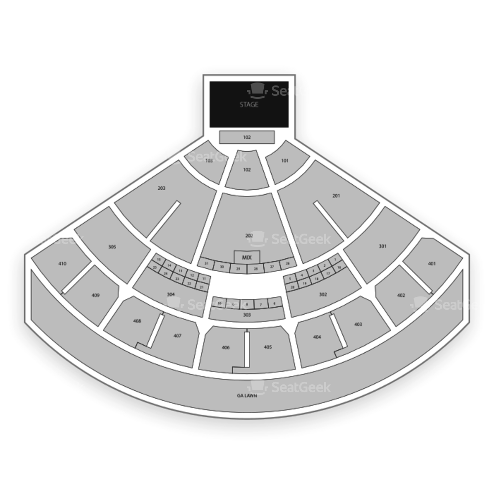 Budweiser Stage Seating Chart Family