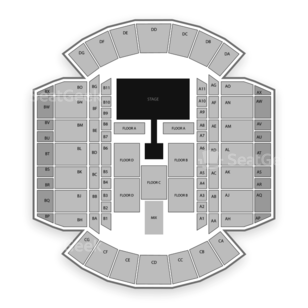 Mississippi Coliseum Seating Chart Concert