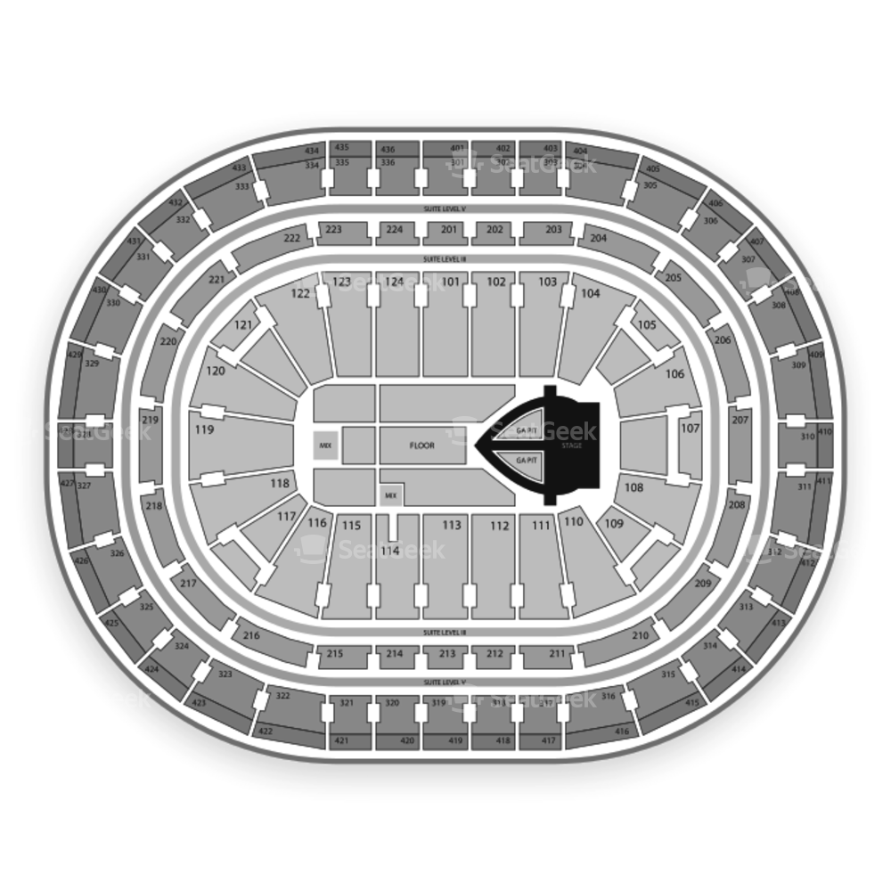 Bell Centre Seating Chart Concert